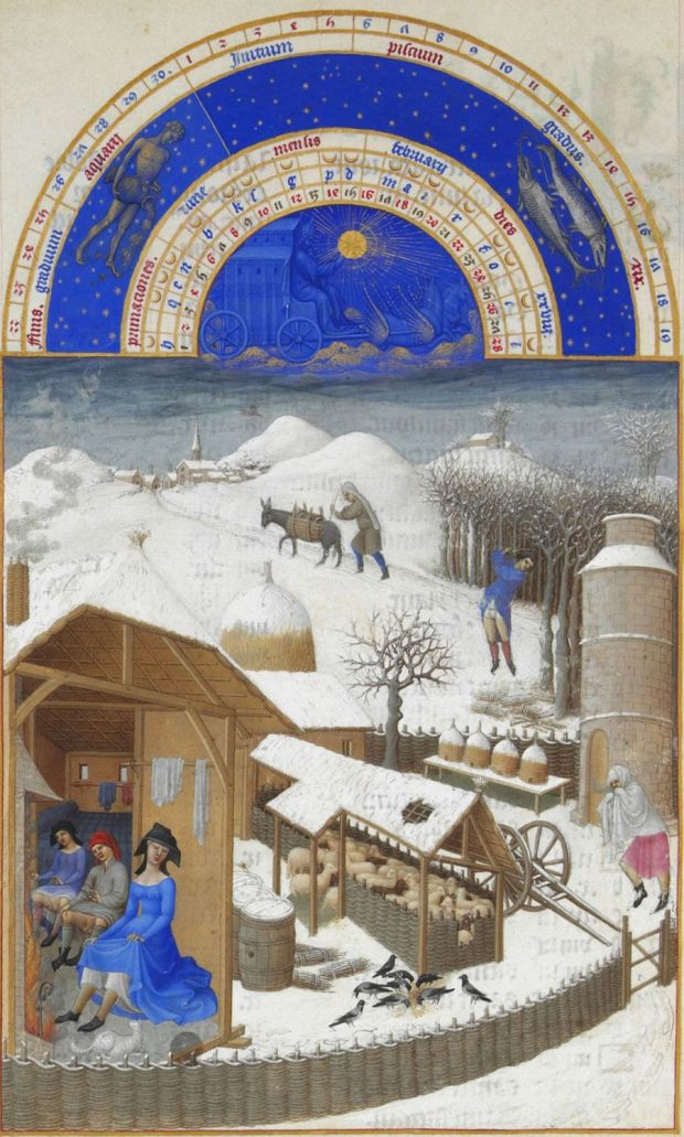 Très Riches Heures du Duc de Berry, the Limbourg Brothers, 15th century.