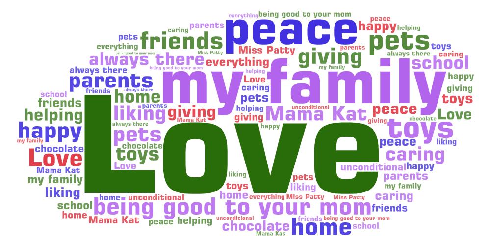 Word Art (3) love